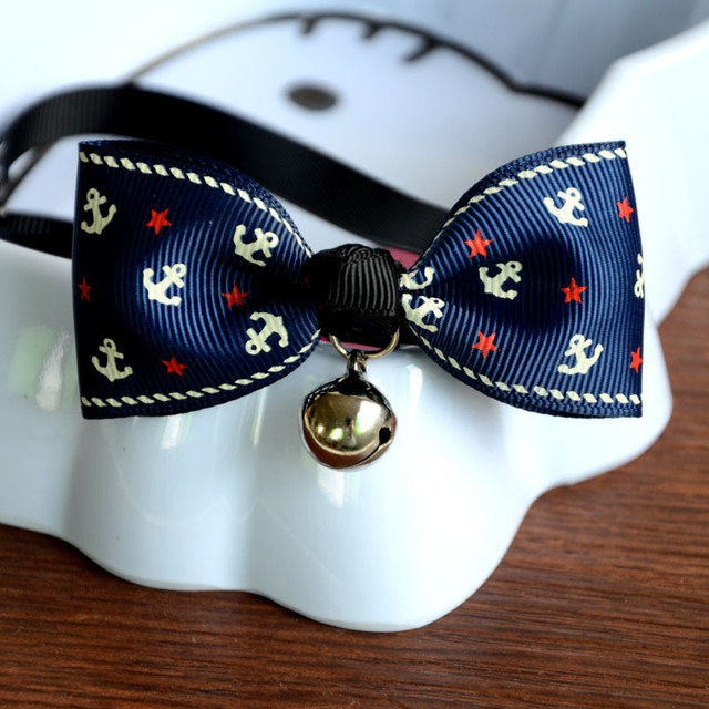 Beautiful Dog Collar Bow Adorable Dog - 1Pc-Safety-Dog-Cat-Pet-Collar-Cute-Bow-Tie-Dog-Collars-With-Bell-Puppy-Kitten-Necktie  Gallery_100128  .jpg