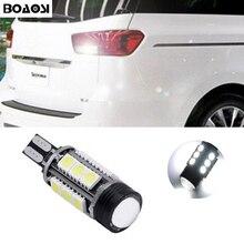 BOAOSI 1x T15 W16W LED CANBUS Samsung 5050 Chip Backup Reverse Light For Kia rio sportage k2 k3 k4 k5 cerato sorento soul Optima