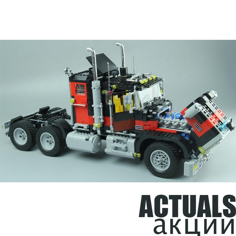Lepin Technic 21015 1743 pièces série de créateurs le chat noir américain camion ensemble de blocs de construction briques bricolage jouets cadeaux de manière créative 5571