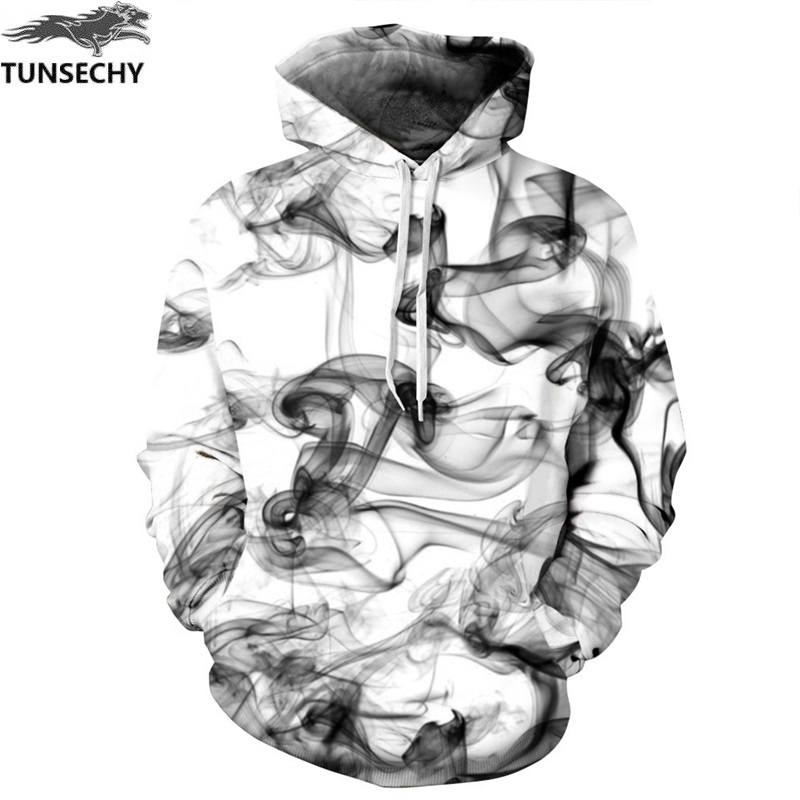 TUNSECHY New Fashion Men/Women 3D Sweatshirts Print Watercolor Dreamy Smoke Lines Style Autumn Winter Hoodies & Sweatshirts