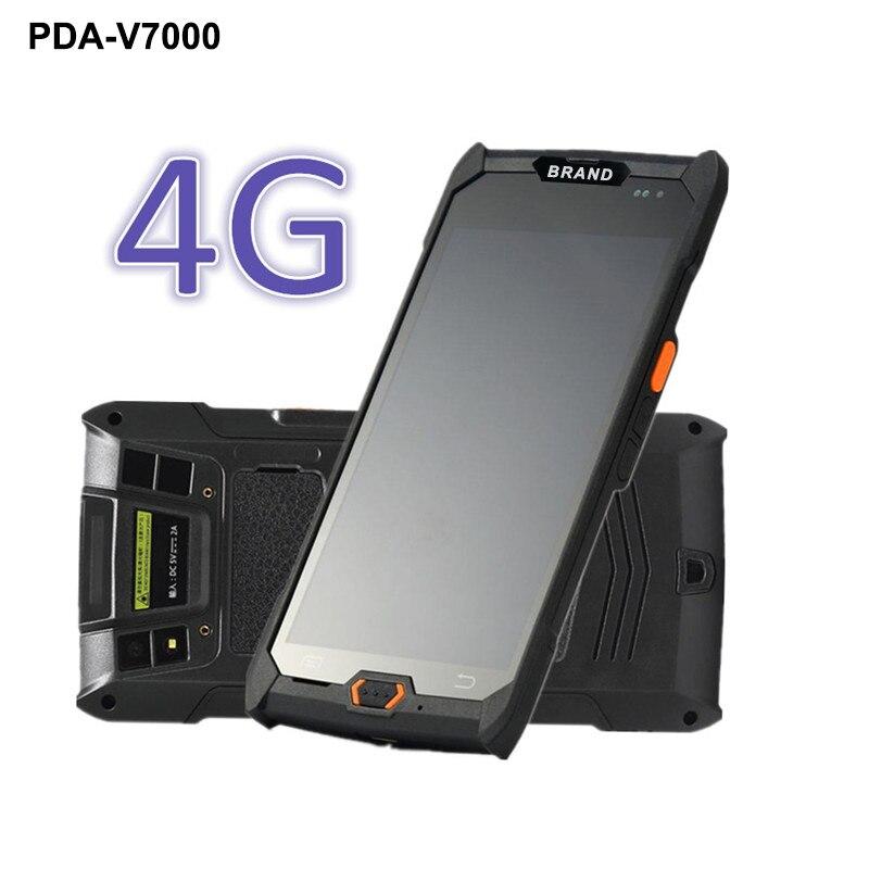 5 cal terminal płatniczy z ekranem dotykowym mobile Data (dane mobilne) kolektor bezprzewodowy skaner kodów kreskowych 1D/2D czytnik kodów kreskowych 4G/GPRS/Bluetooth/Wifi PDA