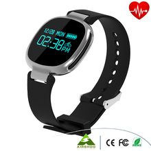 E08 Smart Bracelet Heart Rate Monitor Intelligent Wristband Sport Wrist band Clock Water-proof Bluetooth 4.0 For iOS Android