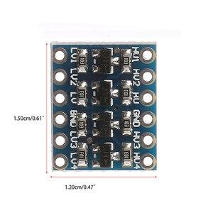 Image 4 - 10 stücke 3 5V 4 Kanal Logic Level Converter Bi Directional Shifter Modul Für IIC