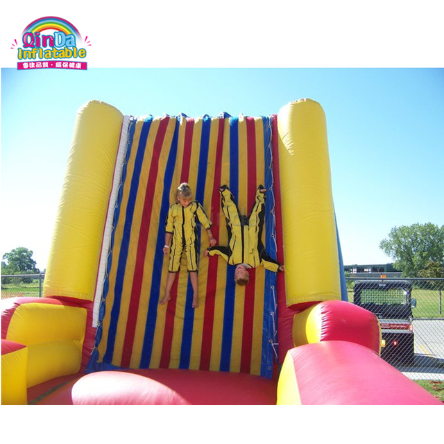 TOP Selling Carnival Games PVC Inflatable Jumping Sticking Wall For Kids And Adults
