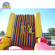 TOP Selling PVC inflatable jumping sticking wall for kids and adult