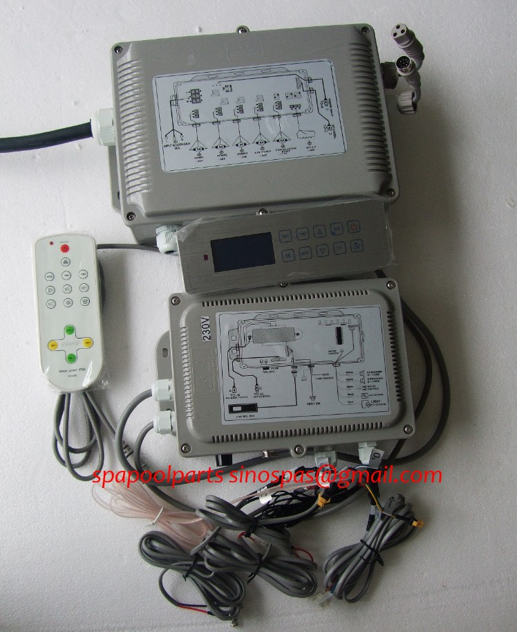hot tub controller GD 7005 GD7005 GD 7005 full set include display keypad panel and control