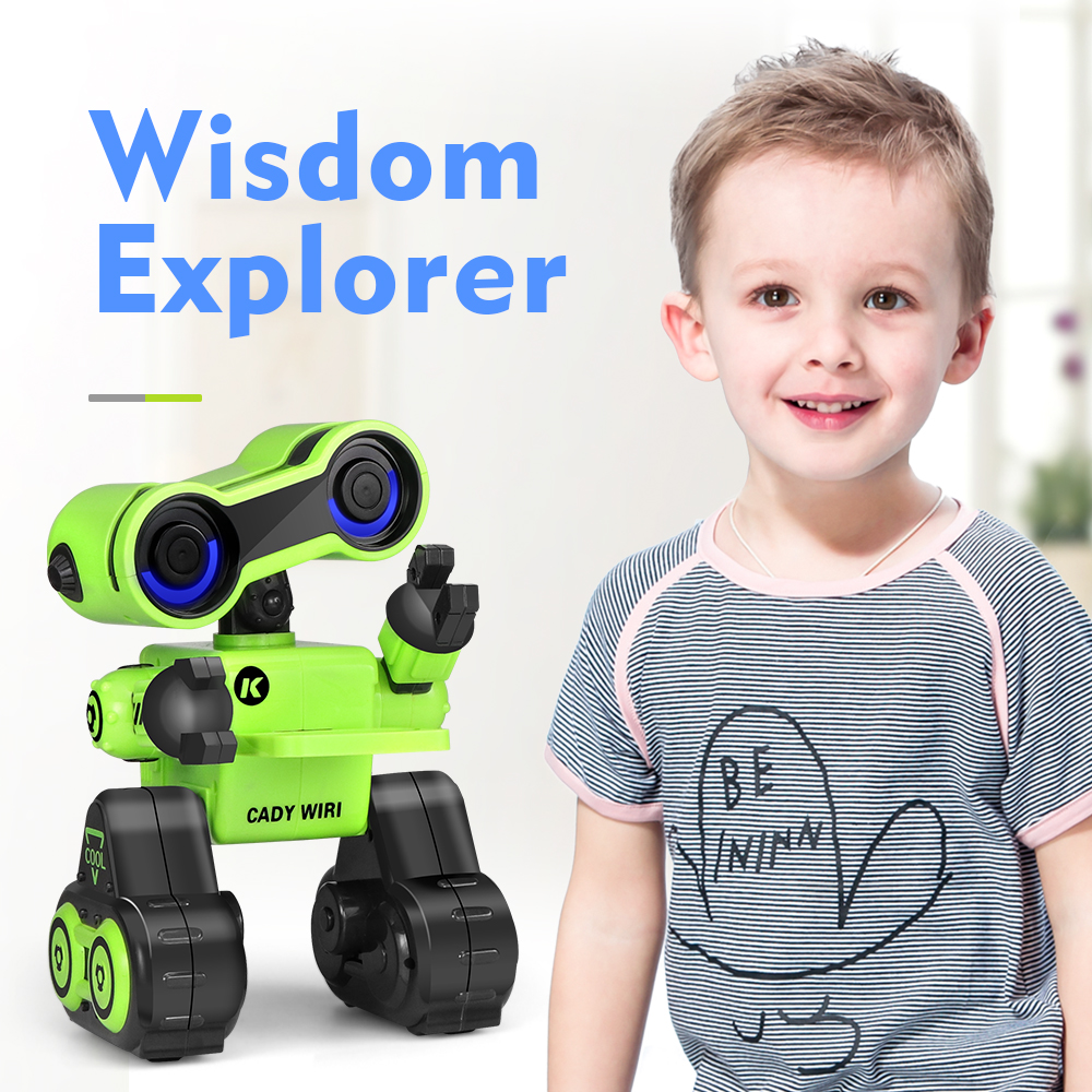 R13 Programmable Toy Robot Brinquedo Touch Control Voice Message Record Sing Dance Robotica Kit Intelligent Robot For Children