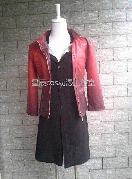 Новинка 2016 года, Мстители эра Альтрона маскарадные костюмы Ванда maximoff Алая ведьма куртка платье Карнавальный костюм для взрослых женщин