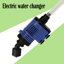 Aquarium Filter Skimmer Cleaner Electric Sand Washing Device Water Changer Pump Filter For Fish Tank Accessories