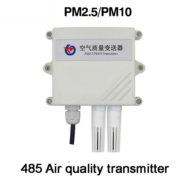 Livraison gratuite PM2.5/PM10 Capteur RS485 modbus détecteur de Particules capteur émetteur 10-30 v 0-6000ug/mètre cube 485 qualité de L'air