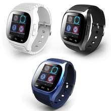 Smartch SmartWatch Bluetooth Smart Watch M26 with LED Display Dial Alarm Pedometer for And
