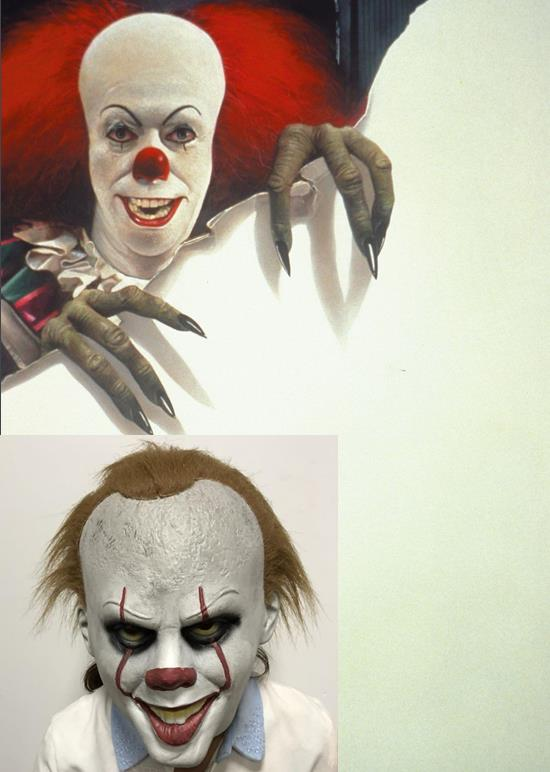 Pennywise Cosplay Mask Stephen King's It Clown Cos Masque Party Latex Head Cover Halloween Cosplay Costumes Carnival disguisment