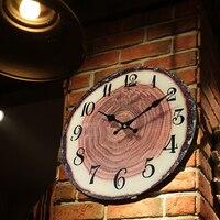 Retro Modern Ring Creative Wall Clock Glass Watches Home Decor Zegar Wedding Decoration Wand Klok Vintage Wall Clocks 40A0937