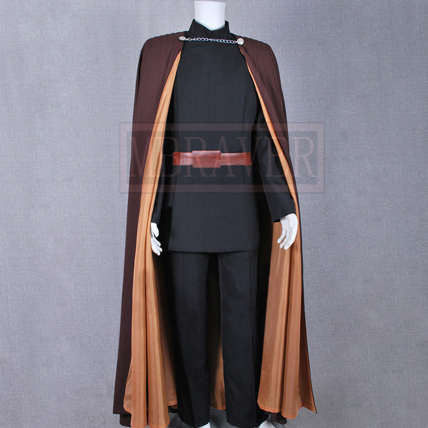 Star Wars Attack of the Clones Count Dooku Halloween Cosplay Costume For Adult Men