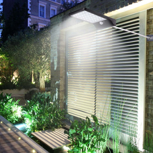 New 36 LED PIR Motion Sensor Light Garden Security Lamp Outdoor Street Waterproof Wall Lights 450LM Solar Power Street Light
