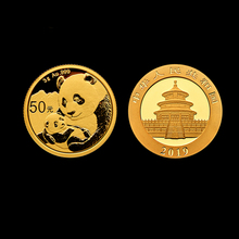 Gold Coin Panda 50-Yuan Commemorative-Coins World-Collection China Real-From-Mint NEW