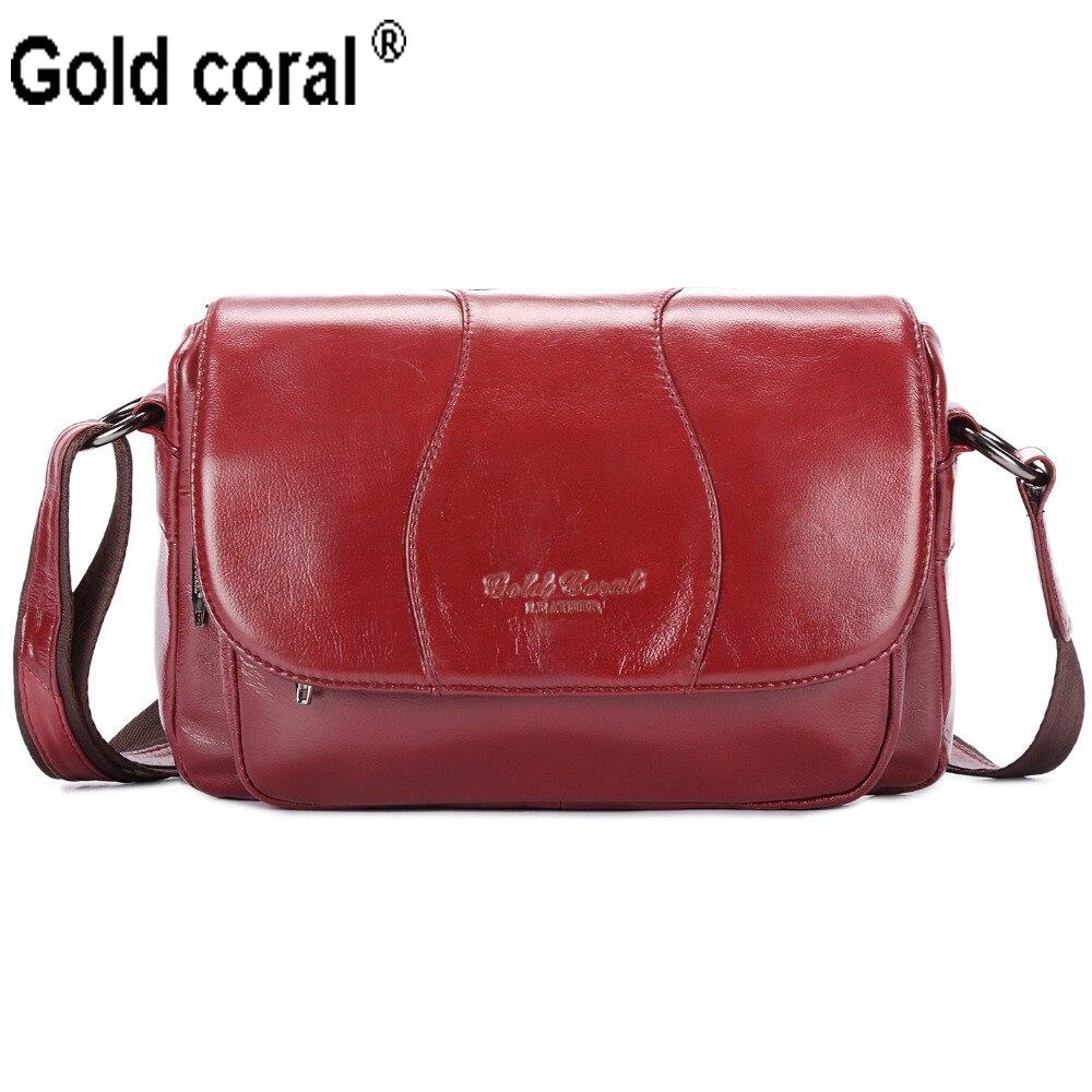 Valódi bőr női táska alkalmi kis Messenger táskák utazási - Kézitáskák