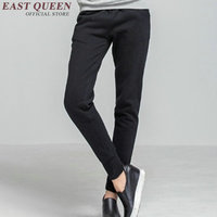 Harem Pants Women Skinny Sweat Pants Women Sweatpants Black Winter Pants For Woman KK1593 H