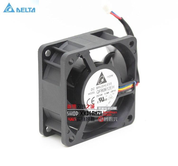 Wholesale Original for delta AFB0612H 6025 6cm 60mm DC 12V 0.15A 3-speed server cooling fan
