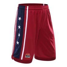 USA  The dream team basketball shorts man shorts beach 5 minutes of pants running fitness marathon running shorts