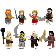 Single Sale The Lord Of The Rings Azog Strong Orc Building Blocks Bricks Collection figure sets model toys for children(China)