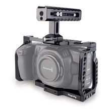 MAGICRIG BMPCC 4 K клетка с ручка NATO для Blackmagic карман Кино Камера BMPCC 4 K для установки микрофона монитор светодиодный свет