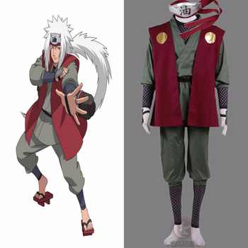 Anime Naruto Jiraiya Cosplay Costume Whole Set - DISCOUNT ITEM  27% OFF All Category
