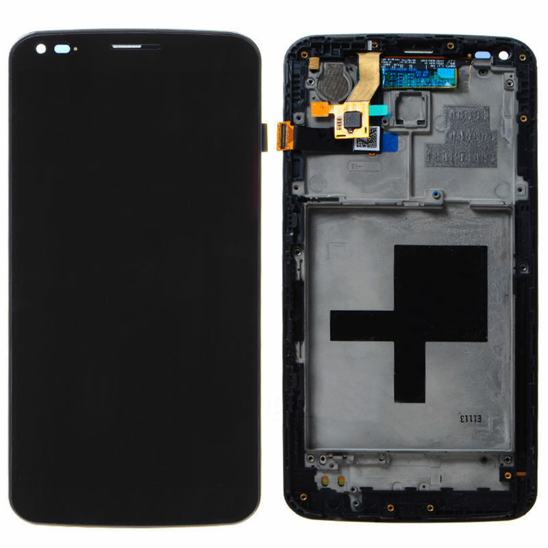 for LG G Flex F340 D950 D955 D958 D959 LS995 LCD display Screen Digitizer with frame repair Replacement Part in stock