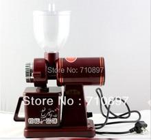 NUEVA LLEGADA 220 V máquina del molino de café molinillo de café con enchufe adaptador envío libre a algunos países