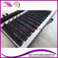 Free shipping 3D faux mink  eyelash extension 0.07mm  10trays each lot , All size available: J,B,C,D