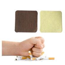 200 шт./лот, пластырь против курения, против дыма, натуральный ингредиент, пластырь для остановки курения, забота о здоровье, терапия