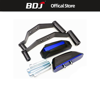 BDJ Kawasaki Z900 Motorcycle Protection Decoration Modified CNC Engine Anti Fall Block Glue Protection Block