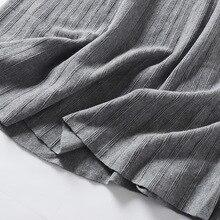 تنورة صوف عالية الخصر ماكسي جديد موديل الخريف والشتاء
