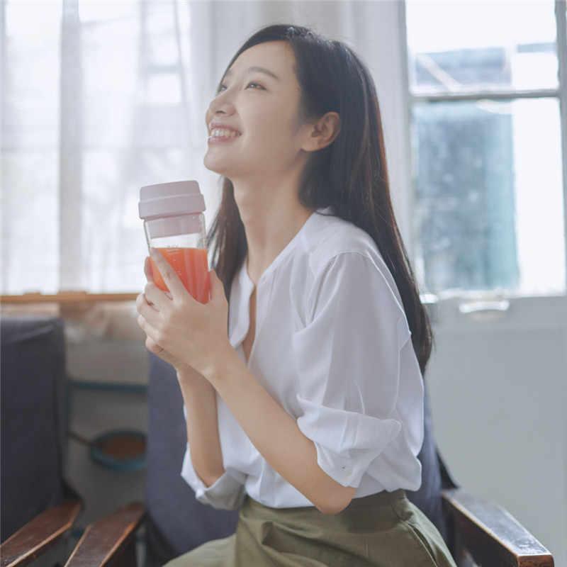 Xiaomi 17PIN звезда фрукты чашки маленький переносной блендер соковыжималка миксер, Кухонный комбайн 400 мл Магнитная Зарядка 30 секунд быстрого сока