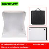 Indoor small items shooting soft light box LED 40*40*40cm Mini Photo Studio Steady Tabletop Shooting Usb interface kit