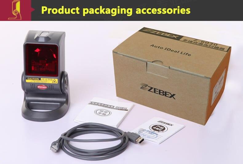de barras do laser zebex Z-6030 varredor