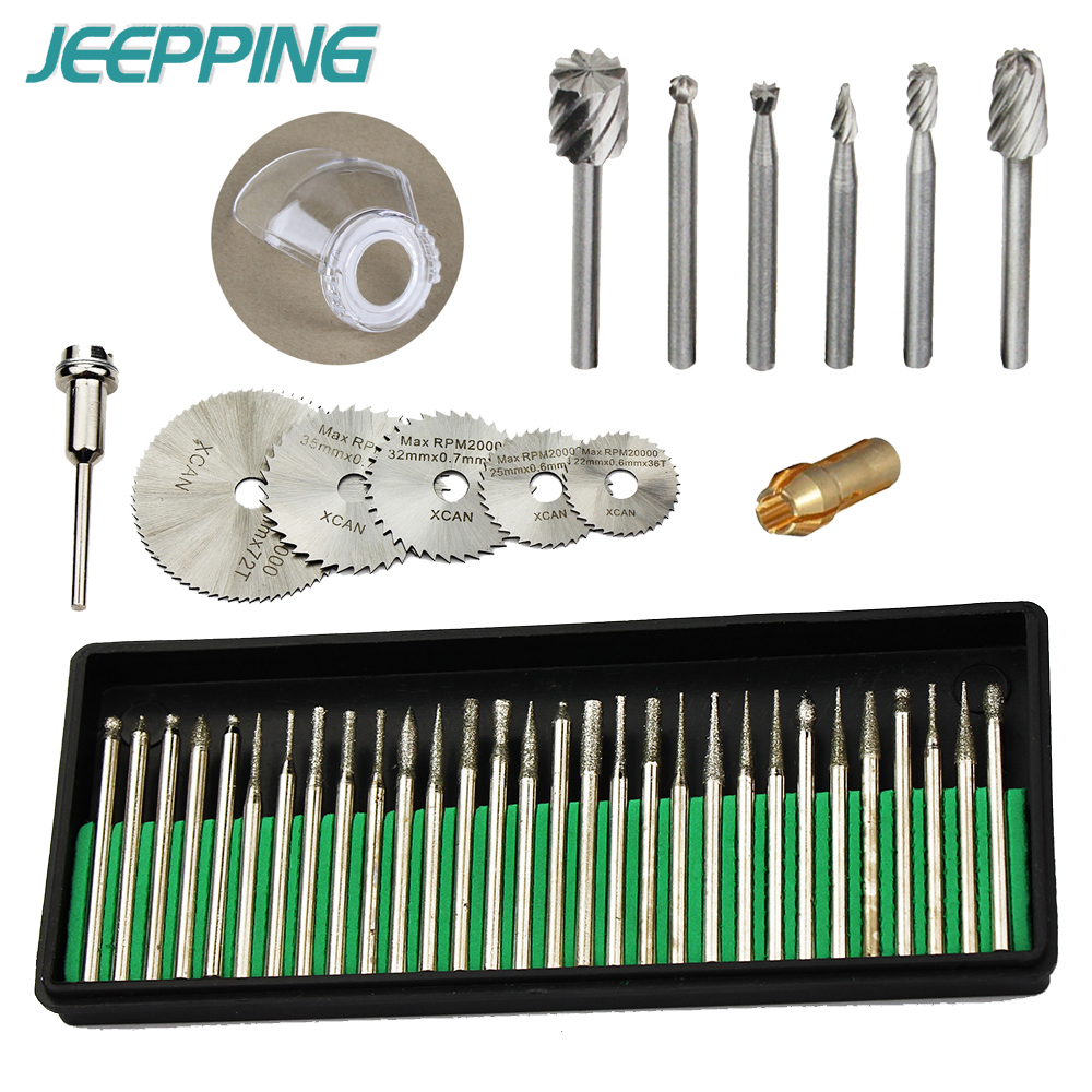 Woodworking tools and accessories//Engraving accessories Set Diamond Bit//Routing Bit//Saw Blade for Dremel Attachment