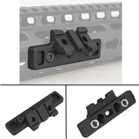 Tactical Keymod Rail Mount 1913 Offset Adaptive Light Mount For Attaching SF M300 600