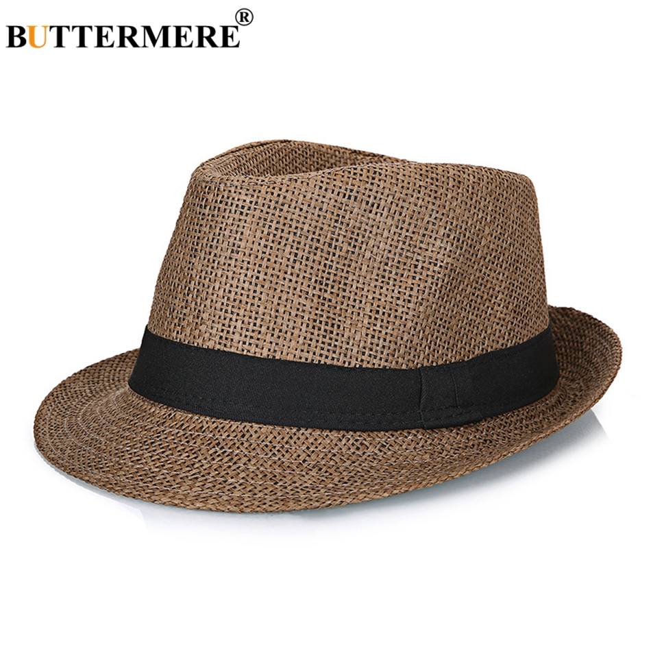 248468cbc5b ... Vintage Summer Beach Hat Ladies Casual England Style Designer Classic Jazz  Hats. Features  Women s Sun Hat Fashion Summer  Straw Hats Men  Summer Hat  ...