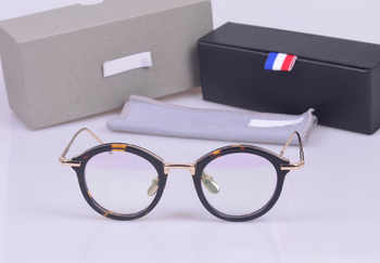 Vintage TB011 round  frames unisex eyeglasses frames prescription eyewear for women men with logo and original box - DISCOUNT ITEM  0% OFF All Category