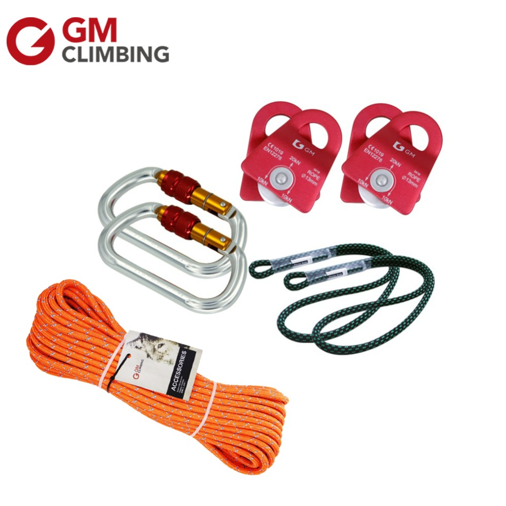 New Hauling Pulley System 18 Prusik Loop with Progress Capture For Rescue Arborist Climbing Rigging alliance for progress