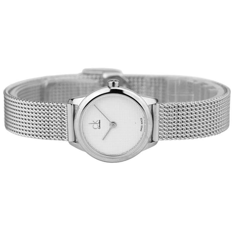 8e1df13f4d CalvinKlein MINIMAL Series Woven Quartz Ladies Watch K3M2312Y-in Women s  Watches from Watches on Aliexpress.com