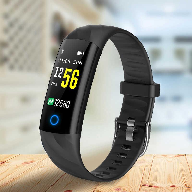 BANGWEI スマートメンズ腕時計心拍数フィットネストラッカー歩数計 LED カラー画面 Bluetooth 接続 IP68 防水スポーツウォッチ