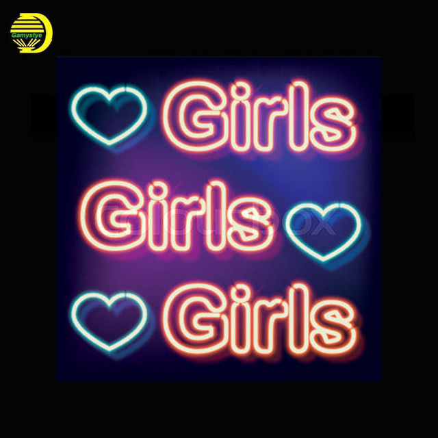 neon sign for girls with heart neon bulbs sign food light custom handmade neon signs for