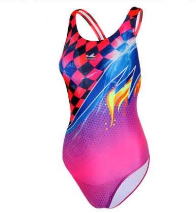 Wanita Seksi FINA Kain Satu-Kepingan Olahraga Renang Setelan Profesional Baju Renang Arena Kompetitif Wanita Triathlon Baju Renang