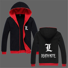 Death Note hoodie Anime Unisex Cotton Winter Casual Zipper