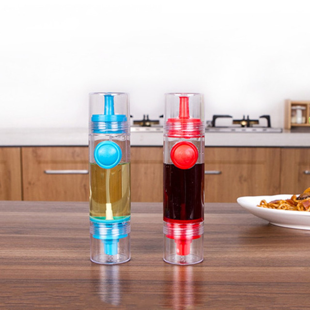 Lovely 2 Colors Practical Design Kitchen Cooking Oil Sprayer Dispenser Leak Proof  Oil Decanter Bottles Container