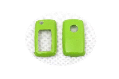 Жесткий Пластик без ключа дистанционного защиты Чехол(глянец зеленый) для Фольксваген MK4/MK5