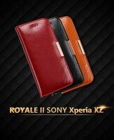 Для sony Z5 чехол KALAIDENG Книга Стиль Флип пояса из натуральной кожи для sony Xperia Z5 e6633 e6653 Z5 Permuim XZ Z3 htc M9