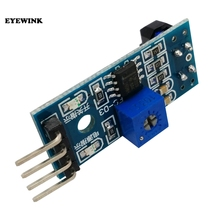 100pcs TCRT5000 A Raggi Infrarossi Riflettanza Sensore Obstacle Avoidance Modulo Sensore Tracing Tracing Module per arduino Kit Fai Da Te
